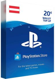 PSN 20 EUR (AT) - PlayStation Network Gift Card
