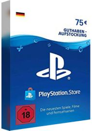 PSN 75 EUR (DE) - PlayStation Network Gift Card