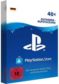 PSN 40 EUR (DE) - PlayStation Network Gift Card