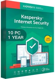 Kaspersky Internet Security Multi Device 2020 - 10 Devices - 1 Year [EU]