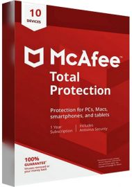 McAfee Total Protection - 10 Devices - 1 Year [EU]