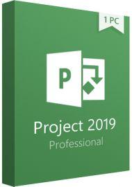 Microsoft Project Professional 2019 Key- 1 PC