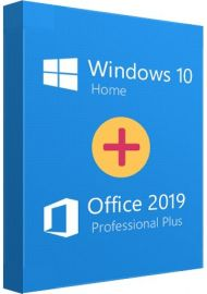 Office 2019 Pro + Windows 10 Home Couple