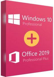 Office 2019 Pro + Windows 10 pro Couple