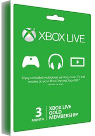 Xbox Live Gold Membership - 3 Month Global